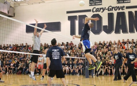 Despite rumors, no changes in store for volleyball assembly