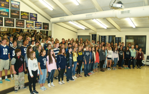 Choir freshmen hit record enrollment