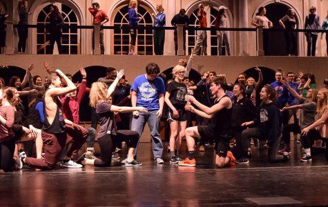 Mature 'Evita' stretches students