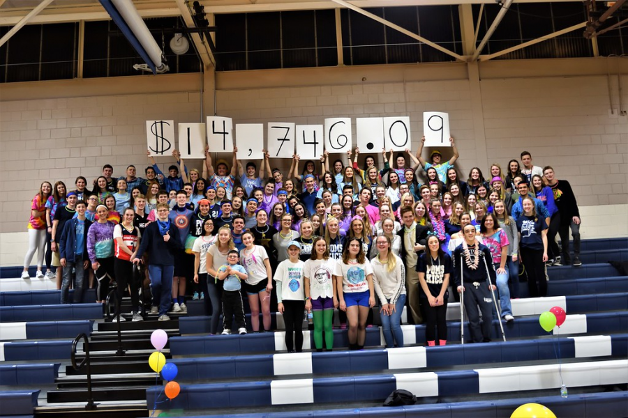 1st Dance Marathon raises almost $15,000