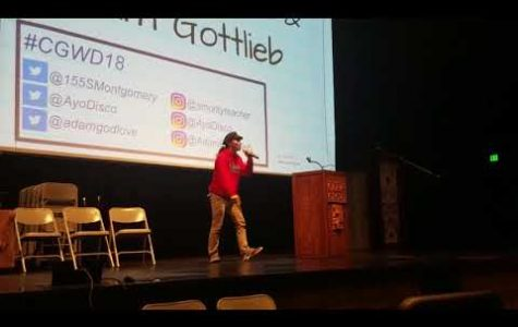 Poets rock the mic at third CG Writer's Day