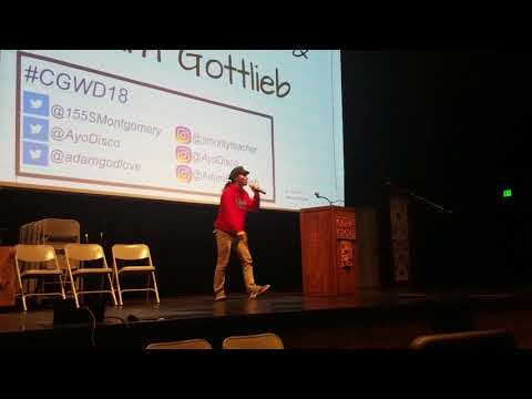 Poets rock the mic at third CG Writers Day
