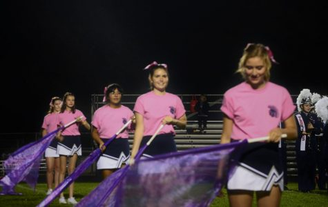 The fun never flags for Color Guard team