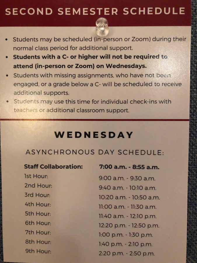 Students in sync on keeping asynchronous Wednesdays